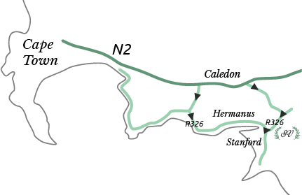 Stanford Valley map